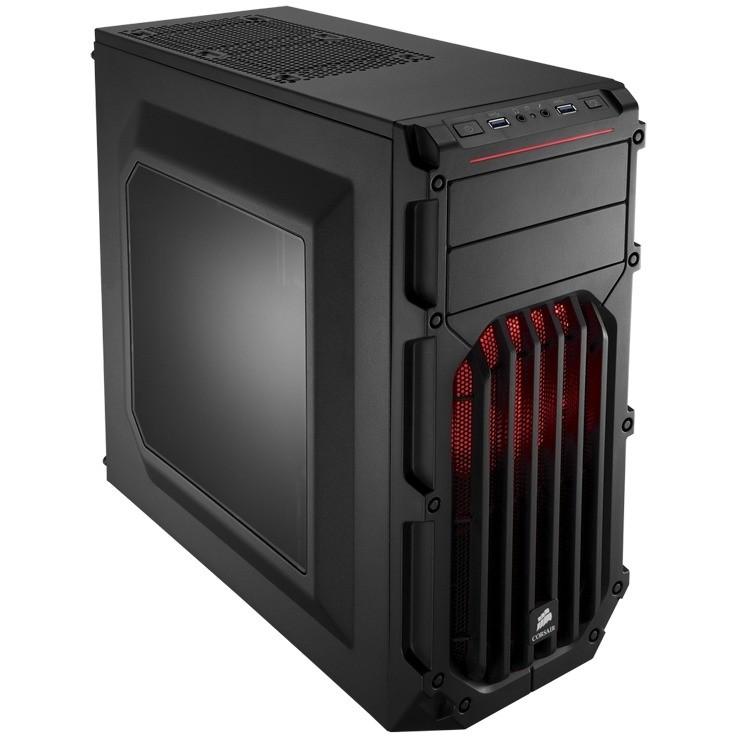 Carcasa Carbide Spec-03 Red Led Black
