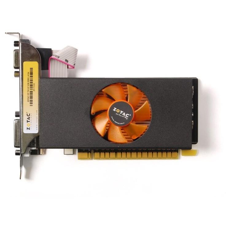 Placa Video Nvidia Geforce Gt 730 2gb Ddr5 64bit Low Profile Bracket