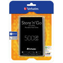 Store n Go Ultra Slim 500GB 2.5 inch USB 3.0 Black