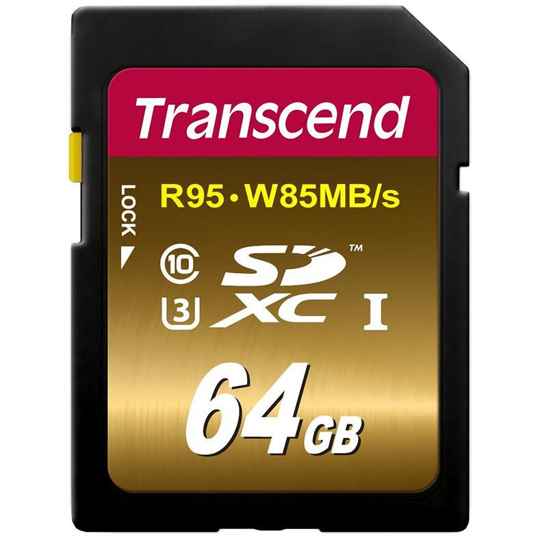 Card Sdxc 64gb Class 10 Uhs-i U3 W85