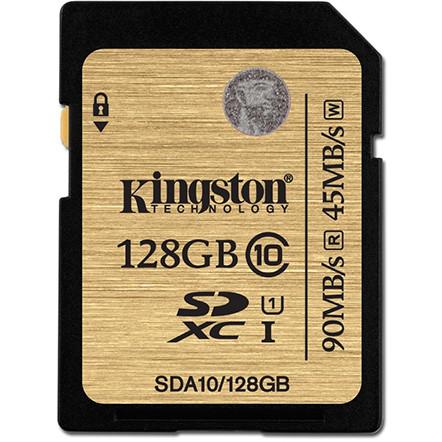 Card Sdxc 128gb Clasa 10 Uhs-i