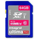 UltimaPro SDXC 64GB Class 10 UHS-I U1