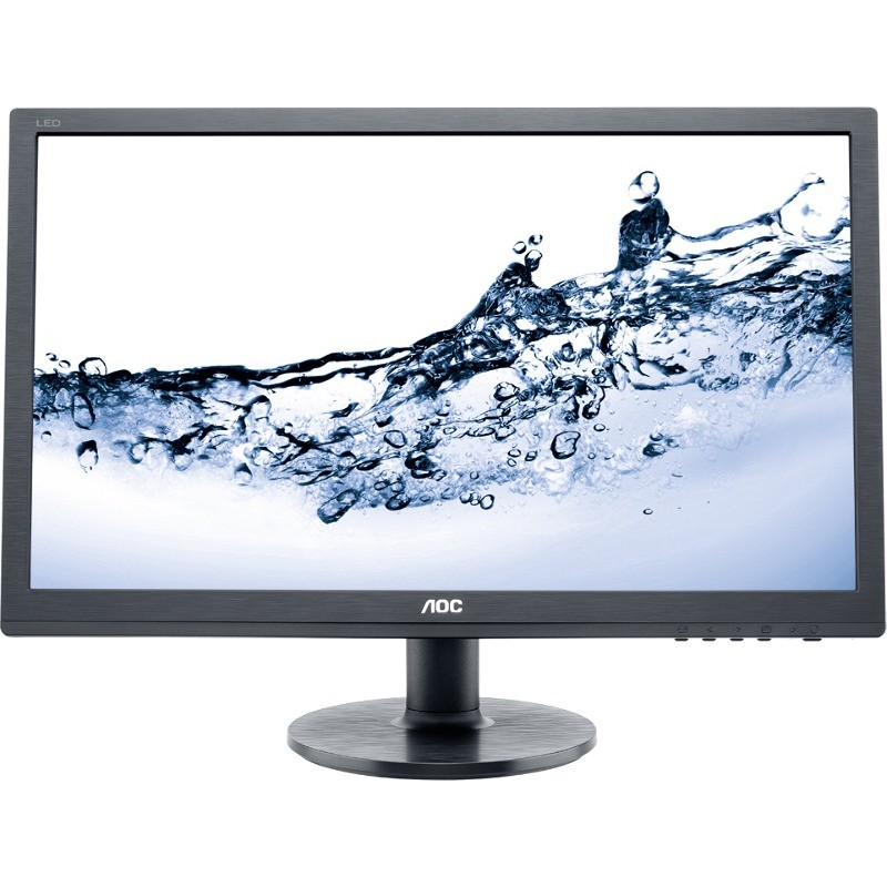 Monitor LED e2460Sh 24 inch 1ms Black thumbnail