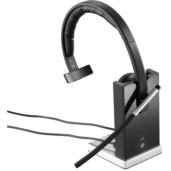 Casti Wireless H820e Mono Black