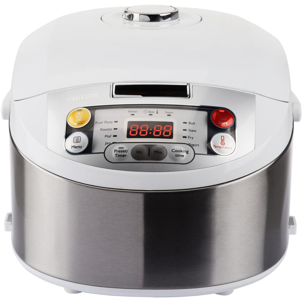 Multicooker Hd3037/70 Viva Collection 980w 5 L Alb / Argintiu