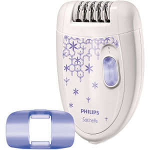 Epilator Philips HP6421/00 Satinelle 2 viteze Alb / Mov