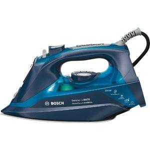 Fier de calcat Bosch TDA703021A Sensixx´x DA70 AntiShine 3000W albastru