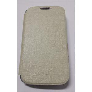 Husa Flip Cover Book Case BCS4WHT white pentru Samsung Galaxy S4