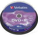 DVD+R pack 10 bucati