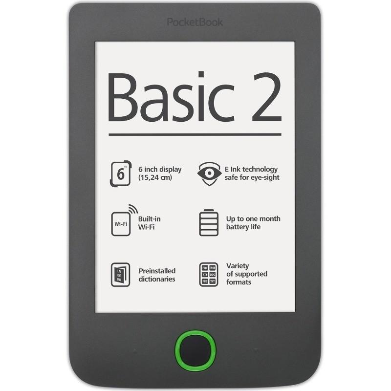 Ebook Reader Basic 2 614 4gb Grey
