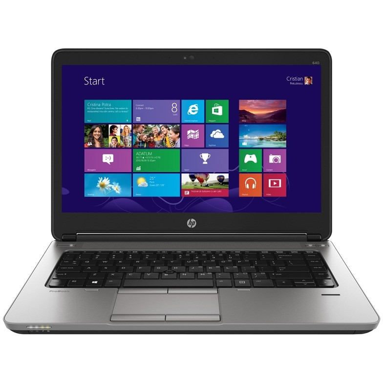 Laptop Probook 640 G1 14 Inch Hd+ Intel I5-4210m 4gb Ddr3 128gb Ssd Windows 8 Pro Downgrade La Windows 7 Pro
