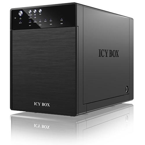 Rack Hdd Icy Box 3.5 Sata Usb 3.0 Sata Jbod