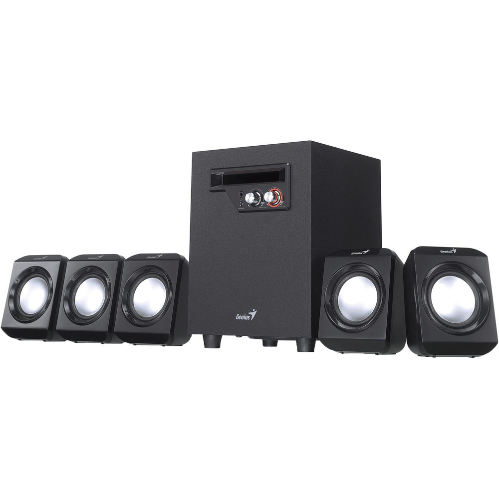 Sistem Audio 5.1 Sw-hf5.1 1020 26w Black