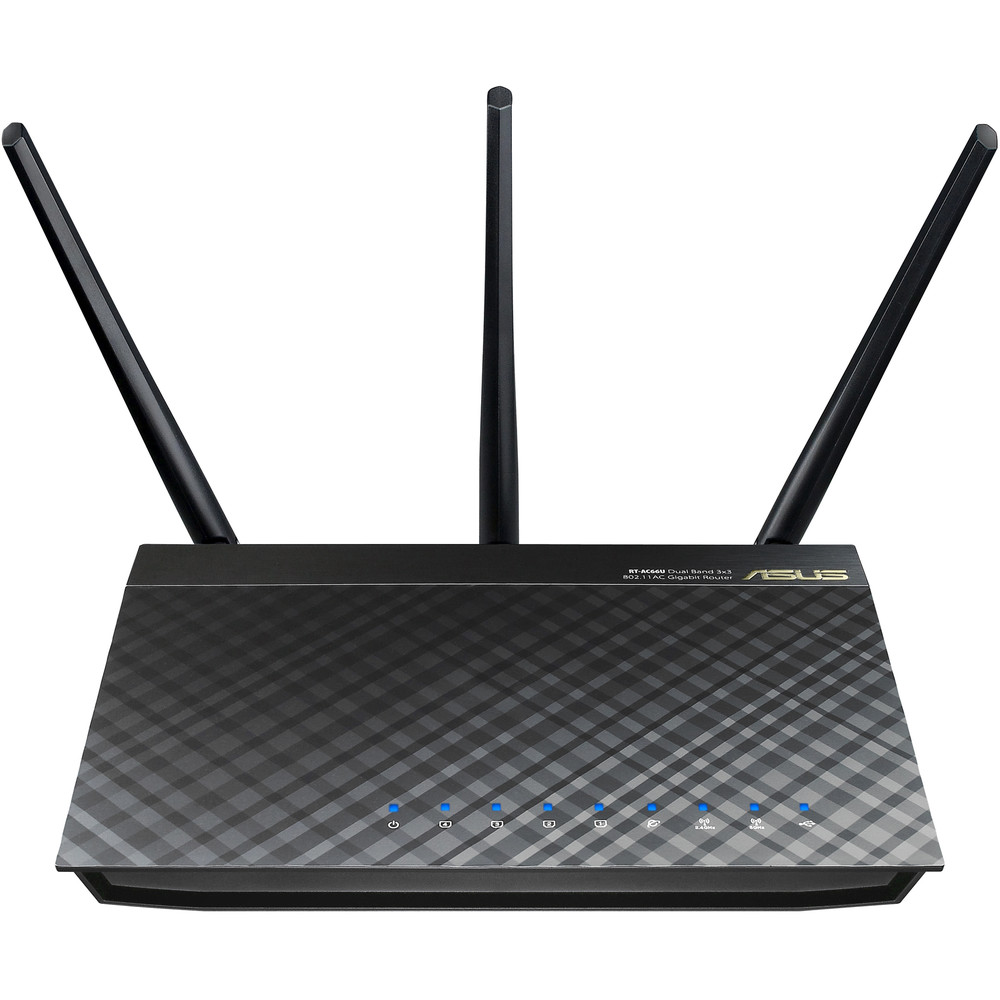 Router Wireless Rt-ac66u Dual-band Black Diamond