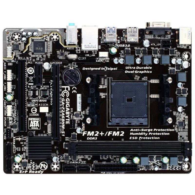 Placa De Baza F2a68hm-s1 Amd Fm2+ Matx