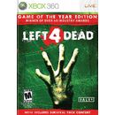 Left 4 Dead Game of the Year XB360