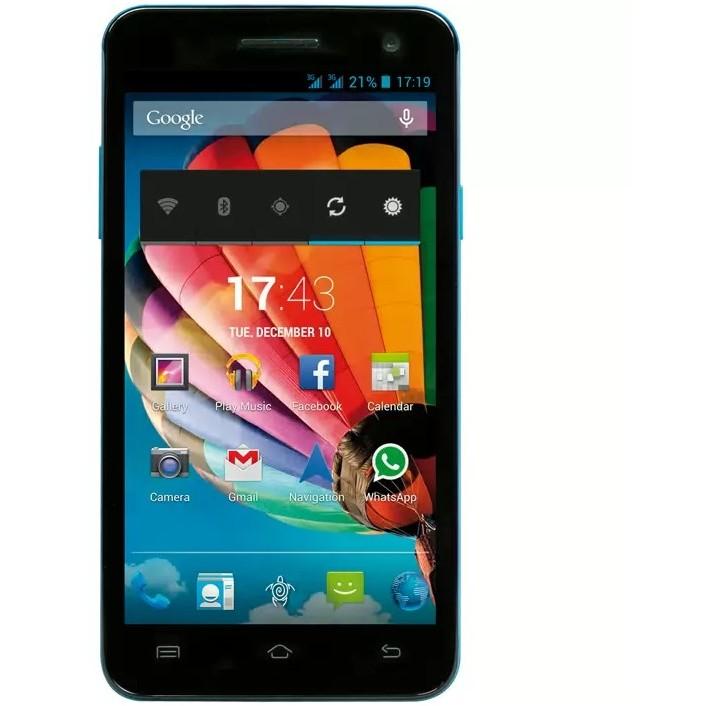 Smartphone PhonePad Duo S501 Dual Sim Blue thumbnail