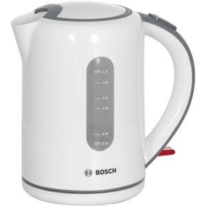 Fierbator Bosch TWK7601 2200W 1.7 l alb / gri