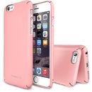 Slim Pink plus folie protectie pentru Apple iPhone 6