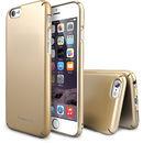 Slim Royal Gold plus folie protectie pentru Apple iPhone 6