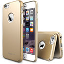 Slim Royal Gold Logo Cut plus folie protectie pentru Apple iPhone 6