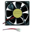 Ventilator Delux 1200rpm 80mm Black
