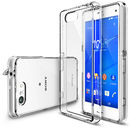 Husa Protectie Spate Ringke FUSION Crystal View plus folie protectie pentru Sony Xperia Z3 compact