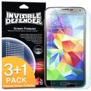 Invisible Screen Defender 3 bucati pentru Samsung Galaxy S5
