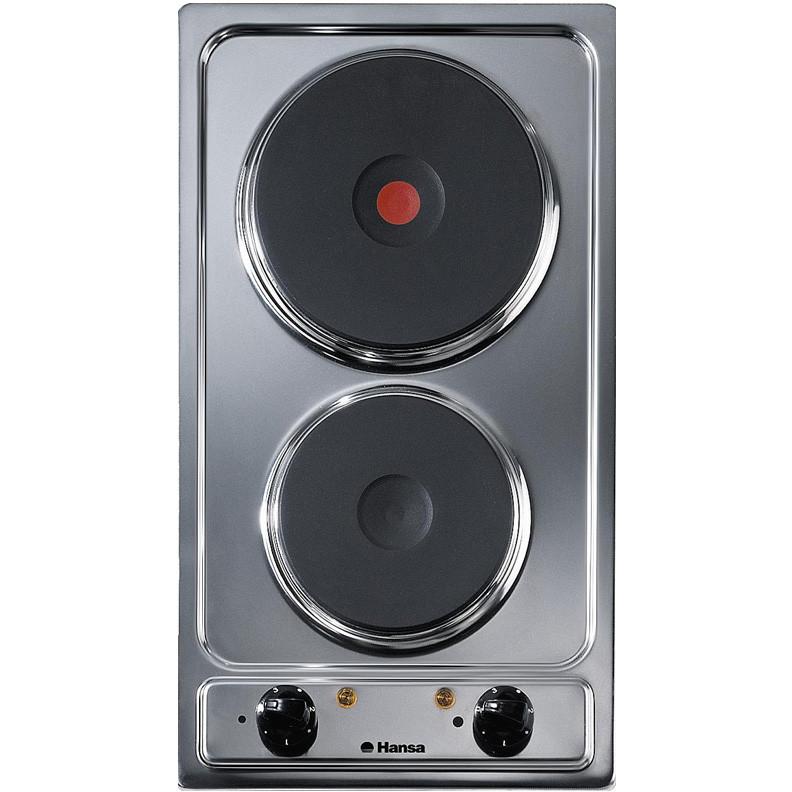 Plita Incorporabila Domino Bhei30130010 Electrica 2 Arzatoare Inox