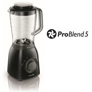 Blender Philips Problend 5 600W negru