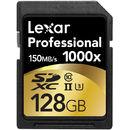 Professional 1000x SDXC 128GB Clasa 10 UHS-II 150MB/s