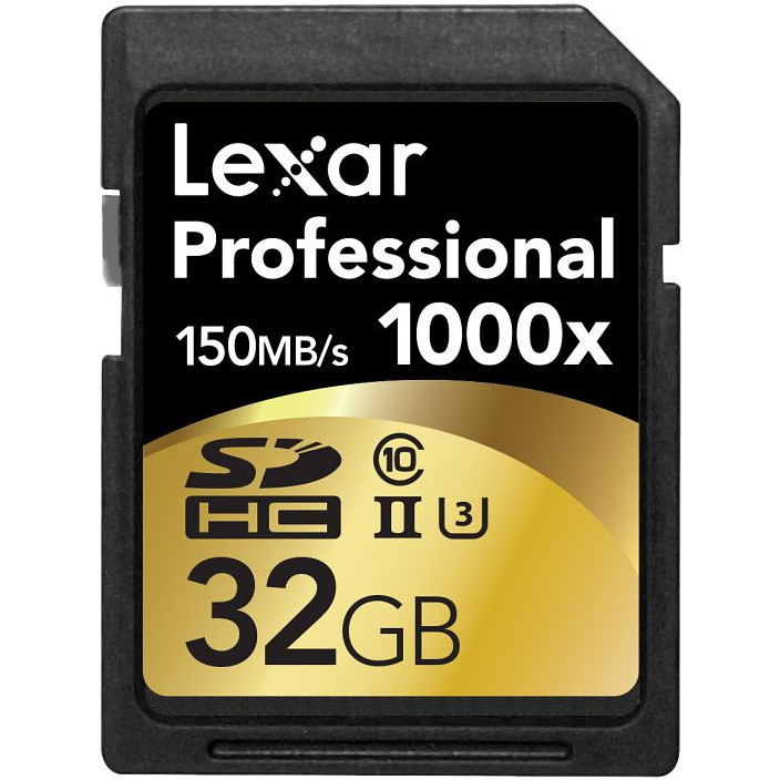 Card Professional 1000x SDHC 32GB Clasa 10 UHS-II 150MB/s thumbnail