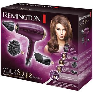 Uscator de Par Remington D5219 Your Style Dryer Kit 2300W mov / negru