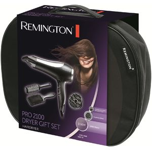 Trusa de coafat Remington Pro 2100 Dryer Gift Set D5017 2100W neagra