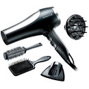 Trusa de coafat Remington Pro 2100 Dryer Gift Set D5017 2100W neagra
