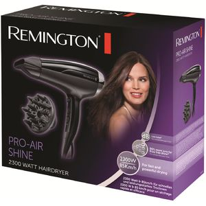 Uscator de Par Remington Pro-Air Shine D5215 2300 W 2 viteze Concentrator Negru
