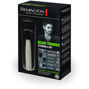 Set de tuns barba si mustata Remington MB4110 Beard Trimmer Stubble Kit Negru / Gri