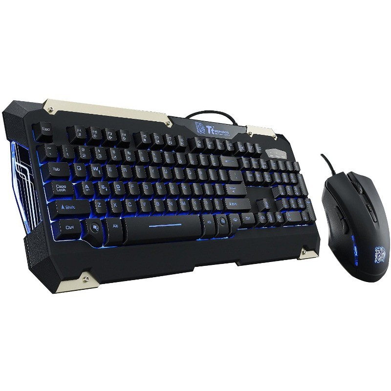 Kit tastatura si mouse Tt eSPORTS Commander Gaming Gear Combo thumbnail