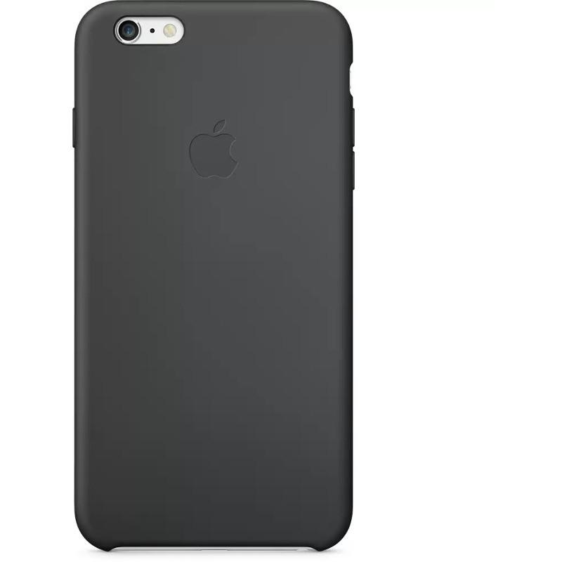Husa Protectie Spate Mgr92zm/a Silicone Case Black Pentru Apple Iphone 6 Plus