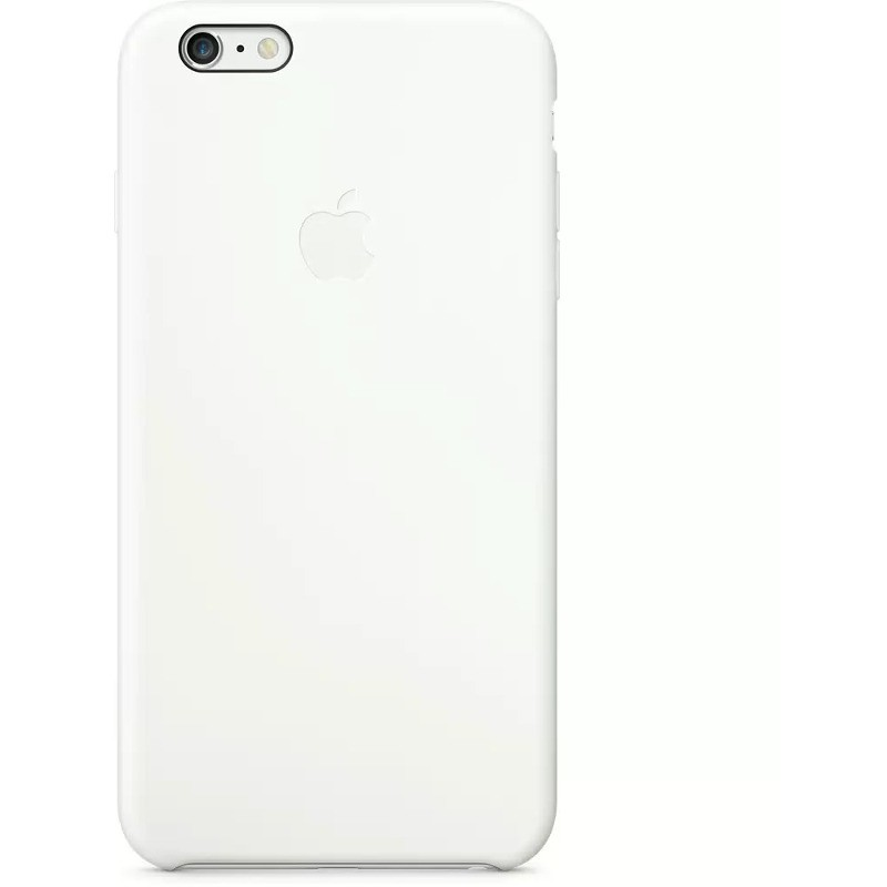 Husa Protectie Spate Mgrf2zm/a Silicone Case White Pentru Apple Iphone 6 Plus
