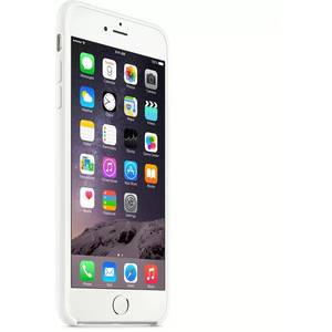 Husa Protectie Spate MGRF2ZM/A Silicone Case White pentru Apple iPhone 6 Plus