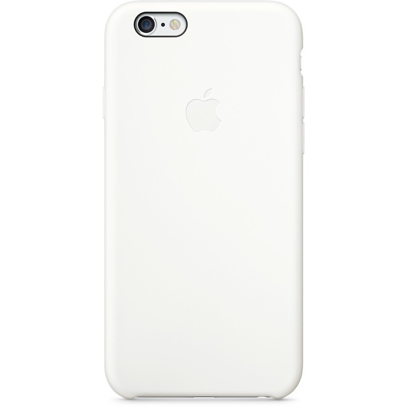 Husa Protectie Spate Mgqg2zm/a Silicone Case White Pentru Apple Iphone 6