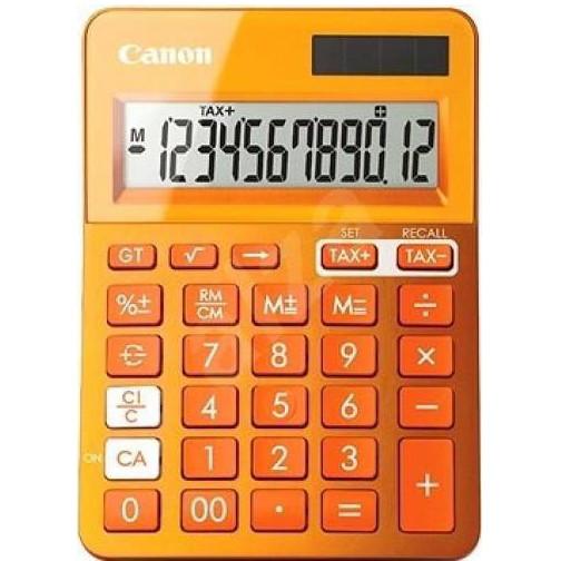 Calculator de birou LS-123KOR 12 cifre portocaliu thumbnail