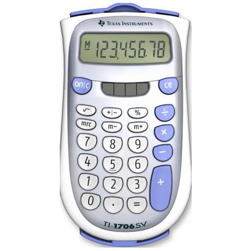 Calculator de birou TI-1706 SV 8 cifre thumbnail