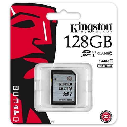 Card Sdxc 128gb Clasa 10 Uhs-i 45mb/s