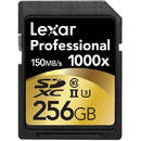 Professional 1000x SDXC 256GB Clasa 10 UHS-II 150MB/s