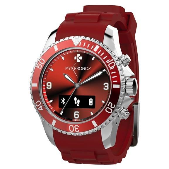 Smartwatch Zeclock Red
