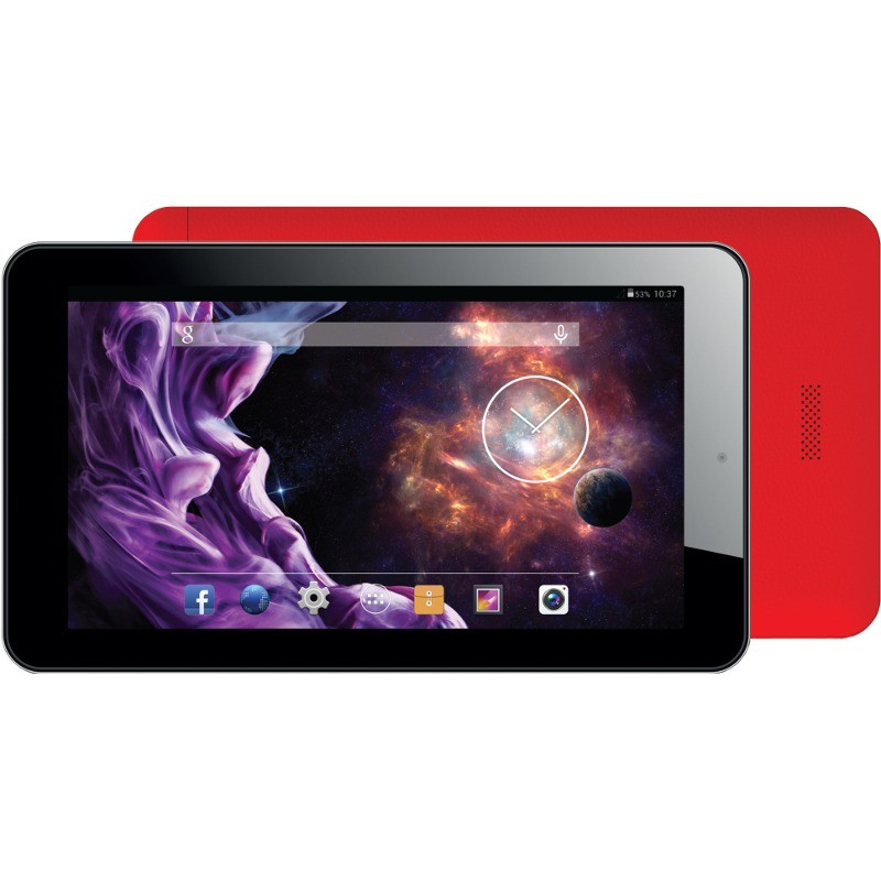 Tableta Beauty Hd Quad 7 Inch Cortex A7 1.2 Ghz Quad Core 512mb Ram 8gb Flash Wifi Android 5.1 Red