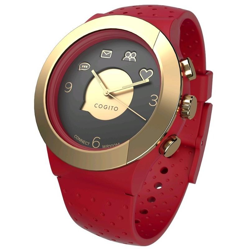 Smartwatch Fit Red Marsala