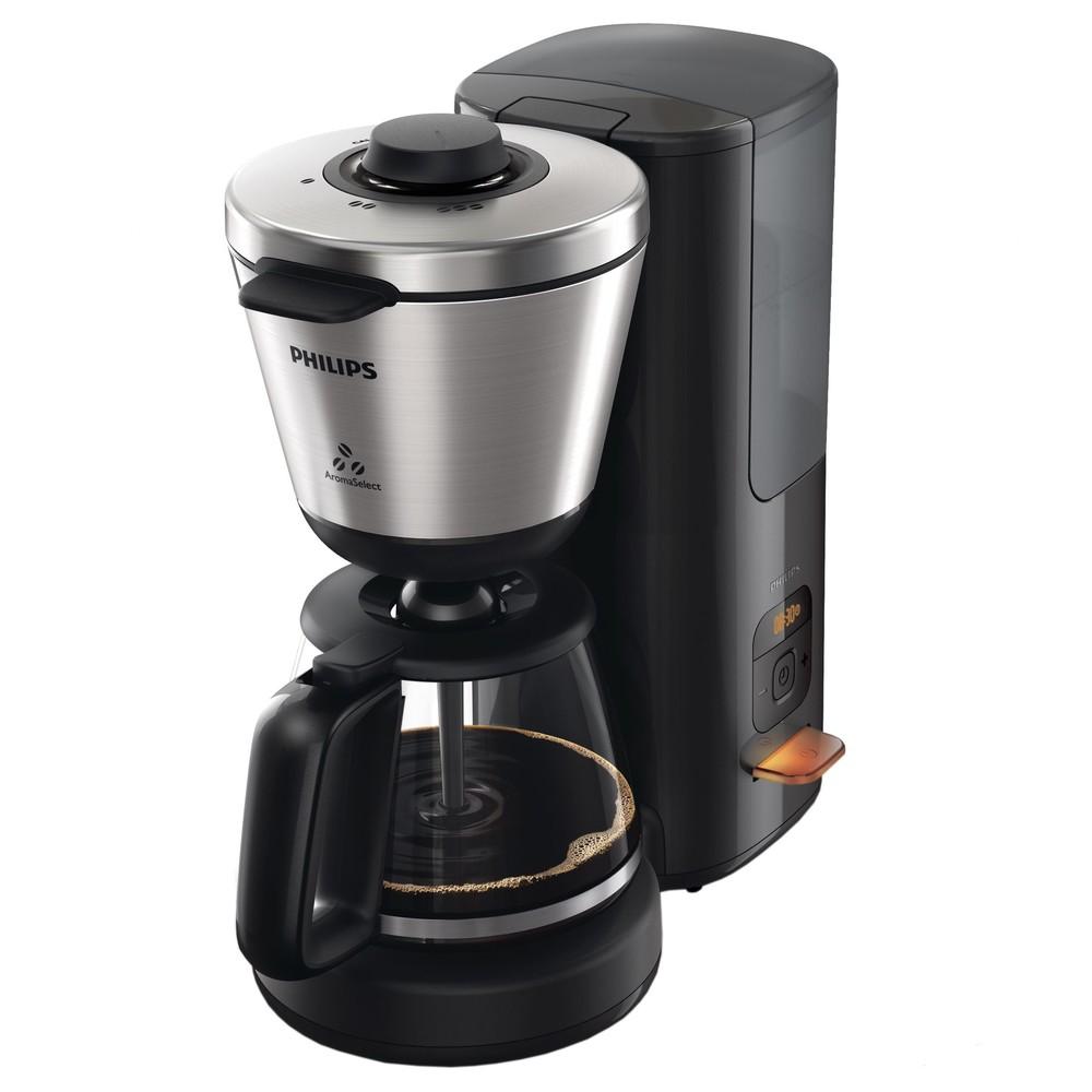 Cafetiera Hd7696/90 Intense 1000w 1.2l Negru / Inox